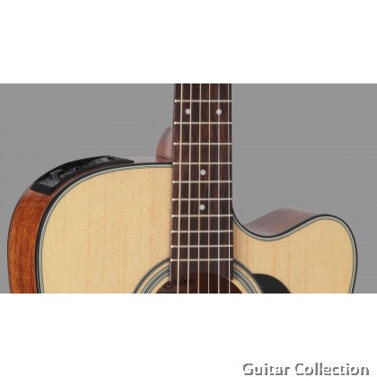 Takamine GD15CE NAT | Dreadnought Cutaway | Spruce Top | Semi-Acoustic Guitar with TP-4T (Free Strings, Picks, Capo, Strap & Bag)