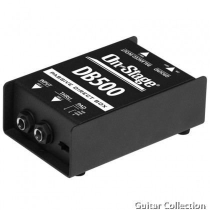 On Stage DB500 Passive DI Box