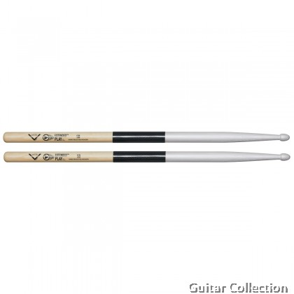 Vater VEP5BW Extended Play™ 5B Wood Tip Hickory Drumsticks (1 Pair)