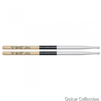 Vater VEPP5BW Extended Play™ Power 5B Wood Tip Hickory Drumsticks (1 Pair)