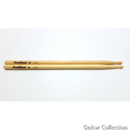Vater GW2BW Goodwood Drumsticks Hickory Wood Tip (1 Pair)