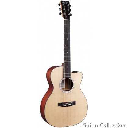 Martin 000CJr-10E Junior Series Acoustic-Electric Guitar Sitka Spruce Top Sapele B&S with Fishman® Sonitone Preamp & bag