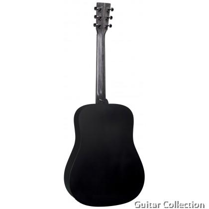 Martin D-X1E Black Dreadnought X Series HPL Top B&S Acoustic-Electric Guitar with Fishman® MX Preamp & Gig Bag