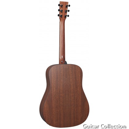 Martin D-X1E Mahogany Dreadnought X Series HPL Top B&S Acoustic-Electric with Fishman® MX Electronics Preamp & Gig Bag