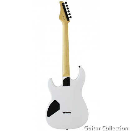 FGN FUJIGEN BOS2GHH/SWH ODYSSEY ELECTRIC GUITAR SNOW WHITE WITH GIG BAG (MADE IN JAPAN)