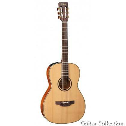 Takamine CP400NYK Pro Series New Yorker Acoustic-Electric Solid Cedar Top, CTP-3 Preamp & Hard Case (Made in Japan)