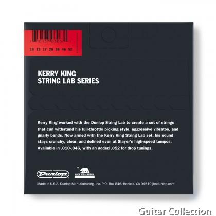 Jim Dunlop KKN1052 Electric Guitar Strings, Kerry King | 6- string-set+1 010-46 +52