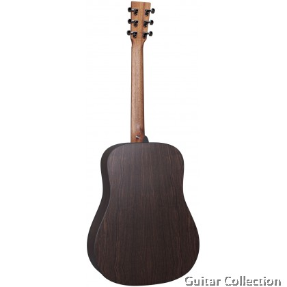 Martin D-X2E Left-Handed Rosewood Dreadnought X Series Solid Spruce Top, HLP B&S, Acoustic-Electric Guitar w Fishman® MX Preamp GigBag