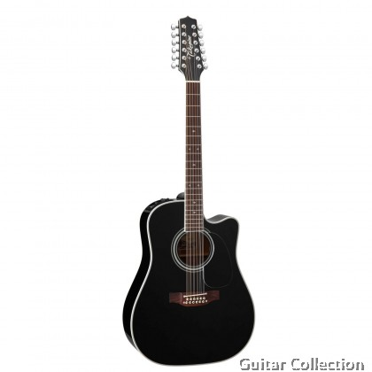 Takamine EF381SC  Pro Series 12 Strings/Solid Cedar B&S Maple/CT4B Preamp/with Case