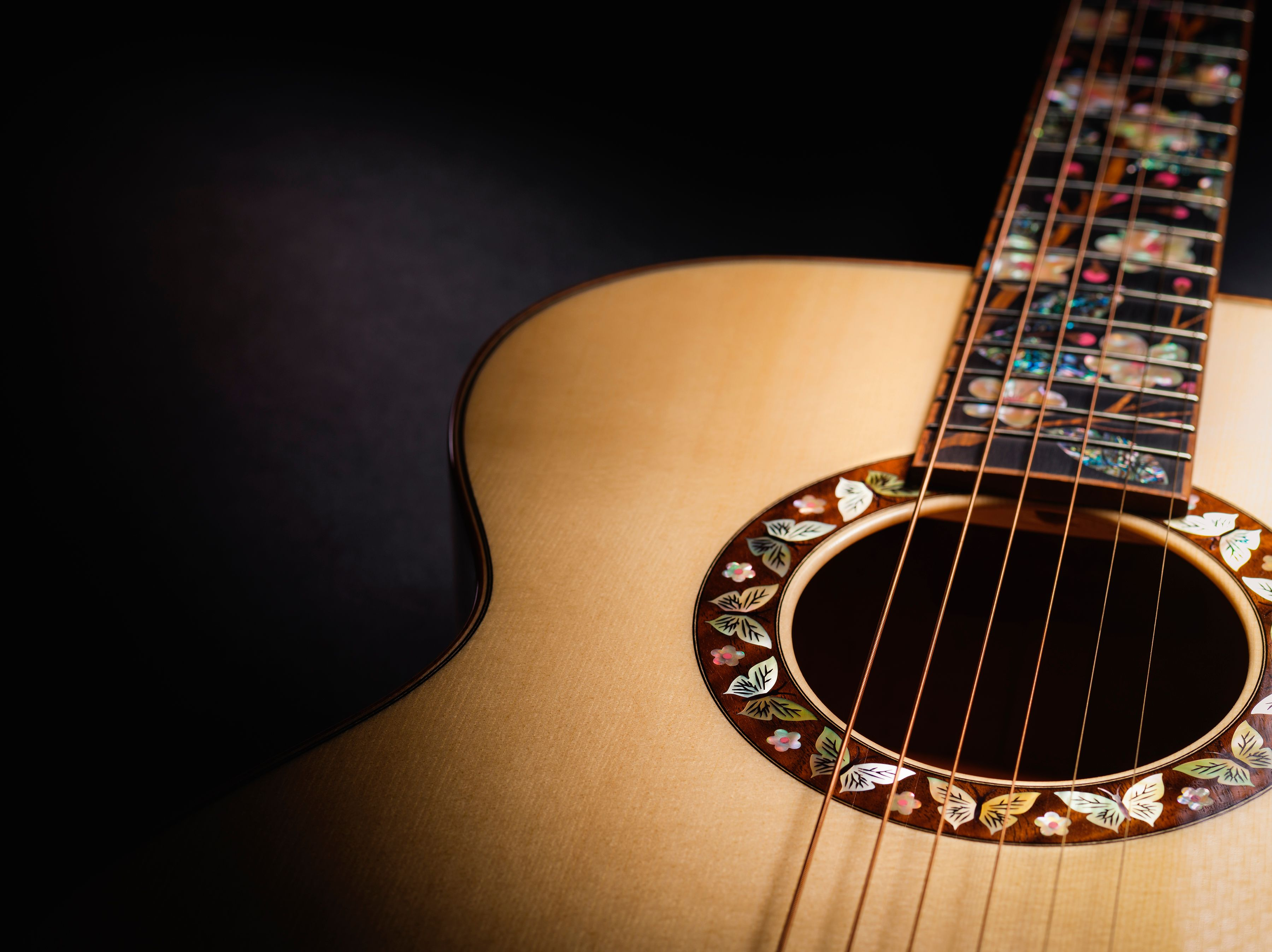 Martin Guitar Personalized Inlays